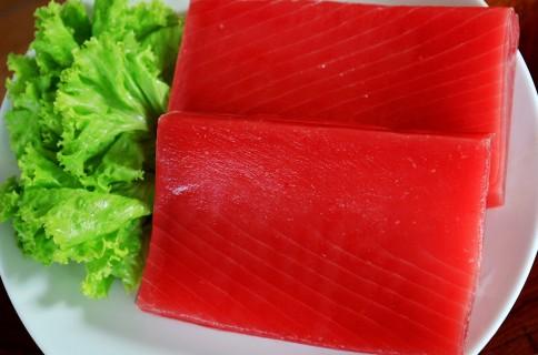 round tuna steak how to cut